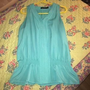 The Limited turquoise women's shirt size small